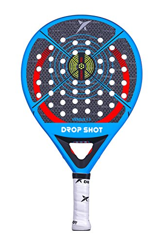 DROP SHOT Versus Pala, Adultos Unisex, Neg
