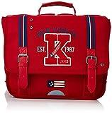 IKKS Cartable American College Trolley, 35 cm, (Rouge)