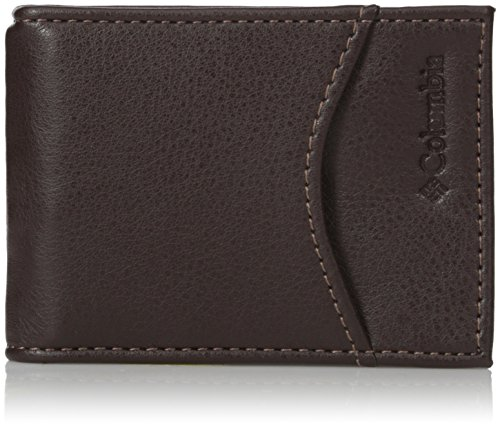 Columbia Men's Merino RFID Blocking Slim Front Pocket Wallet -
