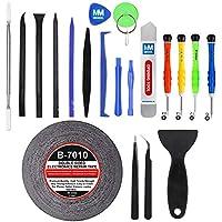 MMOBIEL Kit Complet d'outils 21 en 1 pour Ouverture et réparation de Smartphones/Tablettes (iPhone, iPad, Samsung, Nokia, Motorola, Huawei, Sony, HTC.)