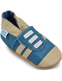 Juicy Bumbles Chaussures Bébé - Chaussons Bébé - Chaussons Cuir Souple - Chaussures Cuir Souple Premiers Pas - Bébé Fille Chaussures Bébé Garçon
