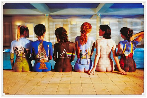 Empire, 209191, Poster, motivo: Pink Floyd - Back Catalogue, ca. 91,5 x 61 cm