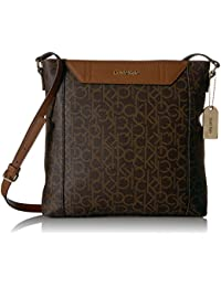 Calvin Klein Dorus Monogram Top Zip Crossbody