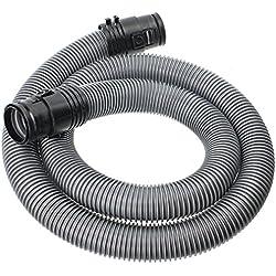 Spares2go - Tuyau flexible pour aspirateur Miele C1,Classic, Junior, EcoLine, Powerline, 1,7 m (38mm, argenté)