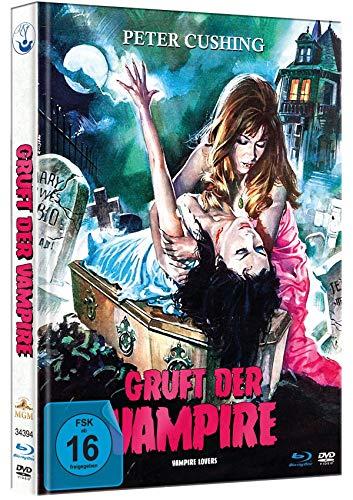 Gruft der Vampire - Limited Mediabook-Edition - HD neu abgetastet (+ DVD) (+ Booklet) [Blu-ray]