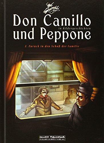 Don Camillo und Peppone in Bildergeschichten 02. Zurück in den Schoß der Familie