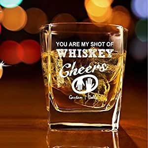 Personalized Whiskey Glass - Set of 2