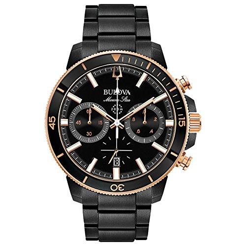 Bulova 98b302para hombre MARINE Star reloj
