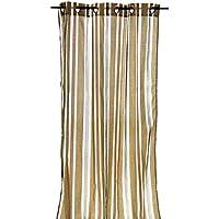 Arte Regal Import Cortina a Rayas, 140 x 260 cm Beige