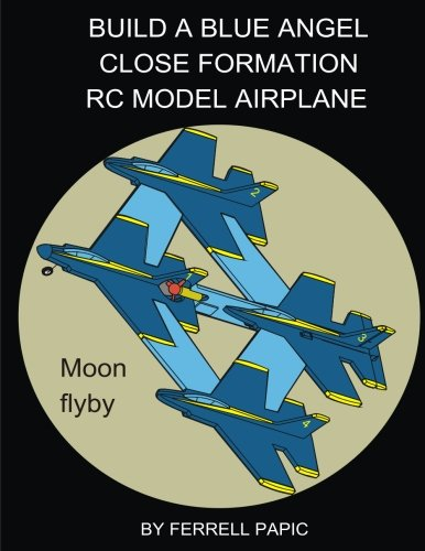 Build a Blue Angel close formation RC model airplane por Ferrell D Papic