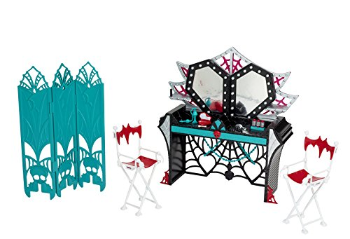 Mattel Monster High BDD90 - Licht aus Grusel an Grusel Garderobe, Zubehör (Monster High Vampir-königin)