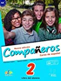 Companeros: Student Book with Access to Internet Support 2016: Curso de Espanol