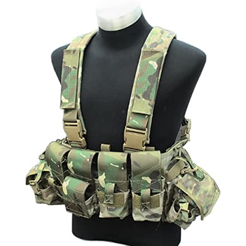 TMC LBT 1961A Chest Rig Multicam