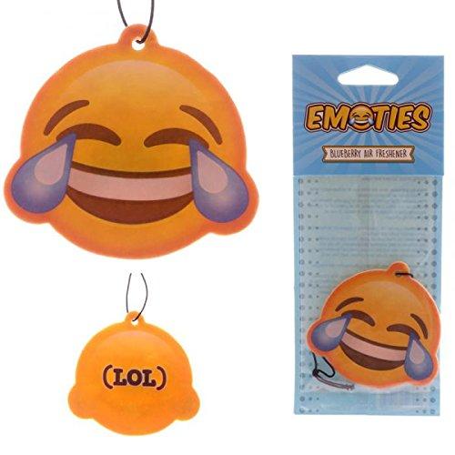 Deodorante per Auto Emoticon Emoji Risata Lol Miritillo