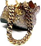 Lifetime Bling Metal chapado en oro de 14 quilates