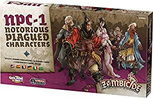 Edge Entertainment- Notorious plagued Characters #1, Color (Asmodee EFCMZB11)