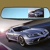 euzeo Full HD 1080p 4.3Grabadora de vídeo Dash Cam espejo retrovisor coche cámara DVR