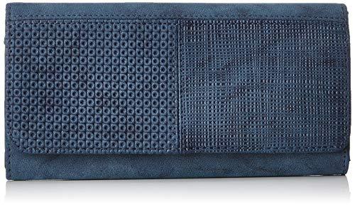 s.Oliver (Bags Damen 39.808.93.5570 Geldbörse, Blau (Blue Green), 3x10x16 cm