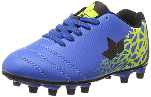 Lico Soccer Sport, Chaussures de Football Mixte enfant Bleu (Blau/schwarz/lemon)