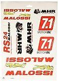 Set di adesivi Malossi DIN-A3