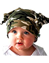 Weiyun Baby Turtleneck Cap Kids Boys Girls Toddler Long Ears Turtleneck Cap  Beanie Infant Cap Baby f84fed0cf4da