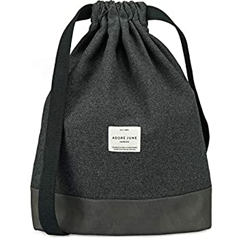 67884420a9a9a Johnny Urban Turnbeutel Hipster Rot Schwarz Luke Canvas Gymsack Gym ...
