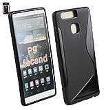 Emartbuy Ultra Slim Gel Cover per Huawei P9–Nero (Confezione da 3)