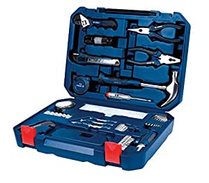Bosch 2.607.002.790 All-in-One Metal Hand Tool Kit (Blue, 108-Pieces)