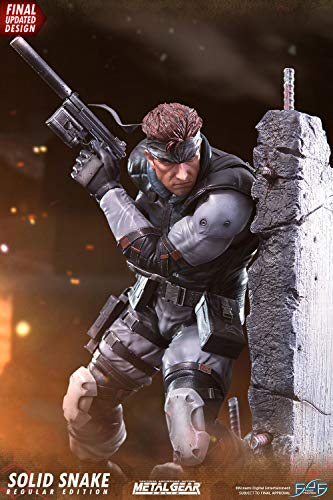 First 4 Figures Estatua Solid Snake 44 cm. Metal Gear Solid