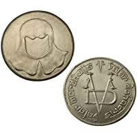 Limited Edition Faceless Man Stainless Steel Coin - A Coin from A Games of Thrones, Licensed by George RR Martin