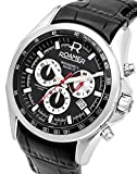 Roamer-Mens-Quartz-Watch-with-Black-Dial-Chronograph-Display-and-Black-Leather-Strap-220837-41-55-02