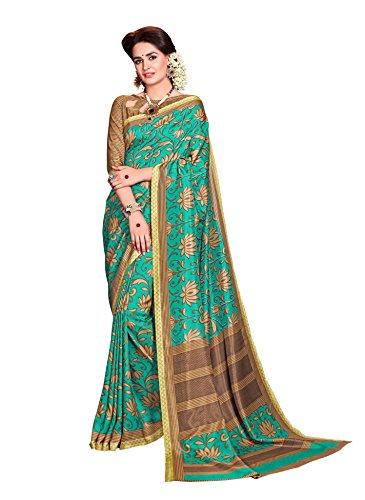 Samskruti Sarees Women\'s Fancy Printed Art Silk Saree(SPAS-4992)
