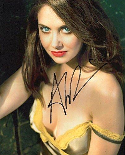 FM Alison Brie Signiert Autogramme 21cm x 29.7cm Plakat Foto - Brie Fotos Alison