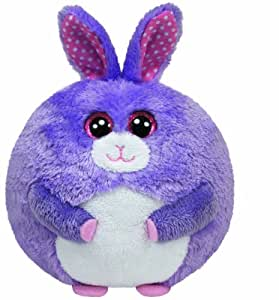 TY 38046 - Beanie Ballz Lilac Ball - Hase Plüschtiere, ø 12 cm, violett