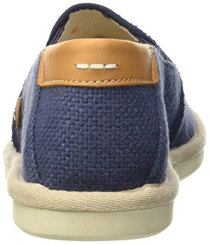 Timberland City Shuffler_city Shuffler Fabric Slip, Mocassins homme Bleu - Blau (Navy Burlap)