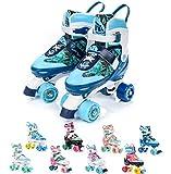 Meteor Pattini a rotelle Discoteca Skate - Roller Parallel 4 Ruote - Pattini da...