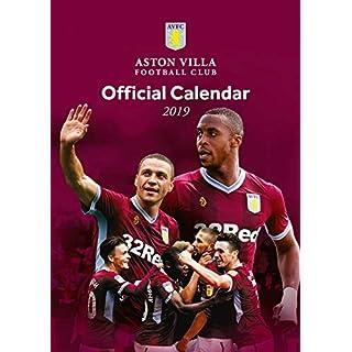 Aston Villa Official 2019 Calendar - A3 Wall Calendar