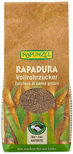 Rapunzel Bio Rapadura Vollrohrzucker, 1 kg