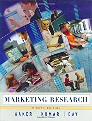 Marketing Research by David A. Aaker (2003-11-19)