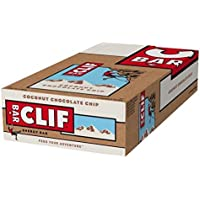 Clif Bar Energieriegel Coconut Chocolate Chip, 12er Pack (12 x 68 g)