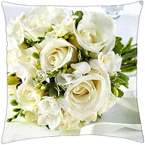 Wedding bouquet - Throw Pillow Cover Case