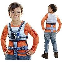 Disfraz camiseta de Star Wars Luke Skywalker original de Carnaval para niño de 2-4 años de microfibra - LolaHome