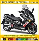 Adesivi Stickers Yamaha TMAX T-MAX (2001-2007) Carena usato  Spedito ovunque in Italia