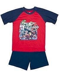 Garçons Marvel Avengers Hulk Ironman Captain America Pyjamas Short tailles de 3 à 10 An