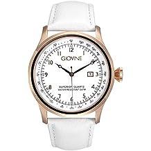 Reloj cuarzo para hombre Giovine Casanova Tempo OGI004/T/L/RG/BN/BN