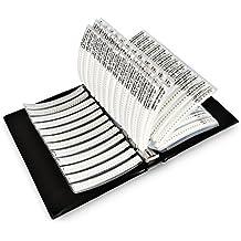 OneSky-UK [0805] condensadores SMD chip Surtido Kit 92 valores (0.5pf-10uf) condensador muestra libro [4600 pcs]