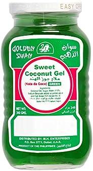 GOLDEN SWAN Coconut Gel Green - Natade Coco, 340g