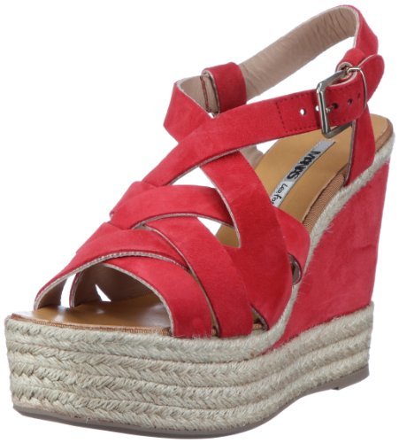 Manas Taormina 121l5707c, Sandales Rouge Femme (pourri (rouge))