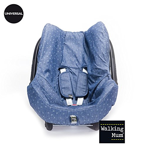 Walking Mum - Funda verano denim baby para grupo 0 azul