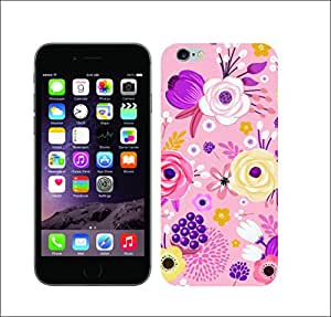 Galaxy Printed 1317 Whimsical Pink HARD COVER for Apple Iphone 6 plus